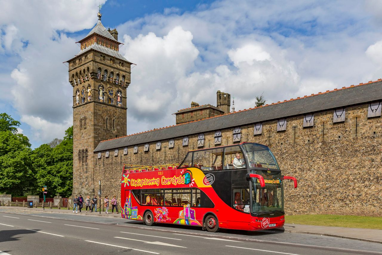 Hop on hop off bus cardiff official city sightseeing tour 2018 - Cardiff city ticket office number ...