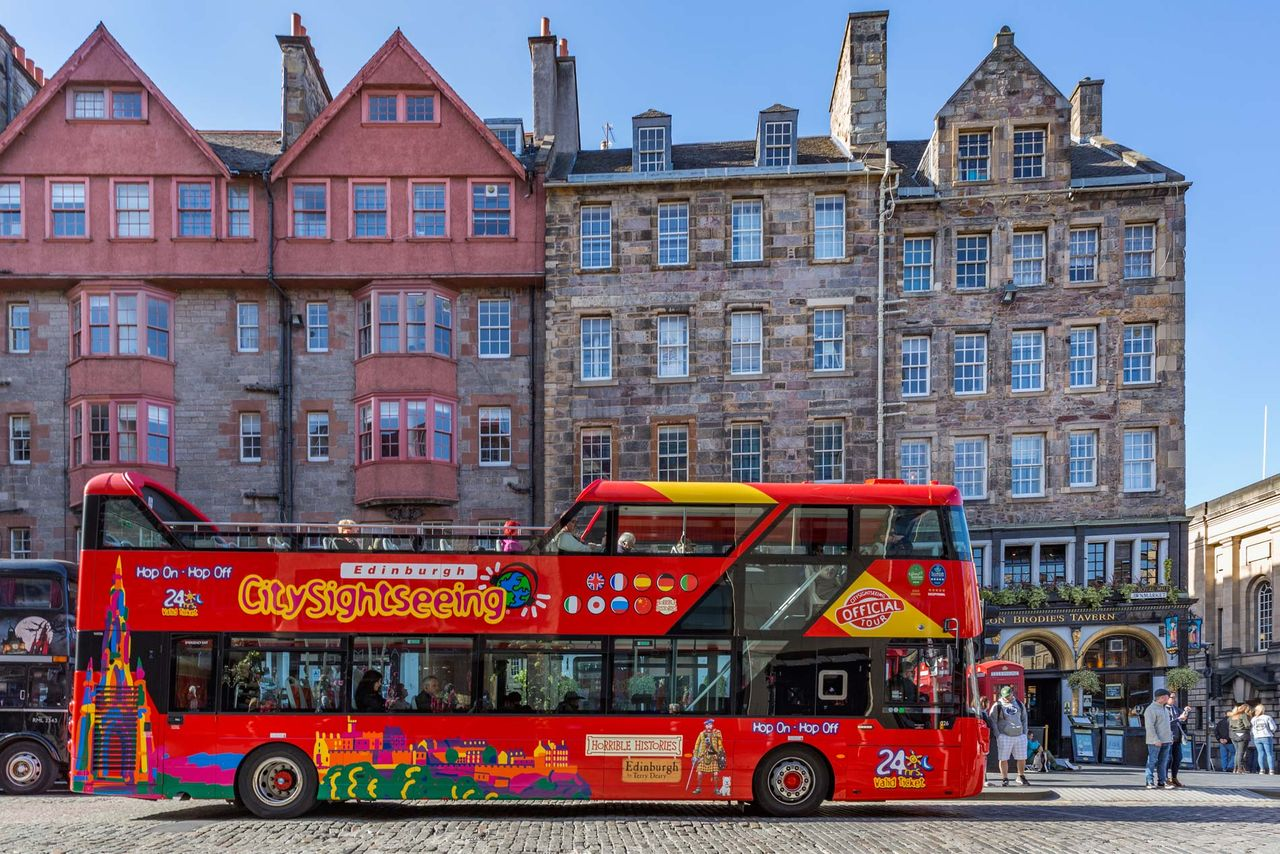 Hop On Hop Off Bus Edinburgh Official City Sightseeing
