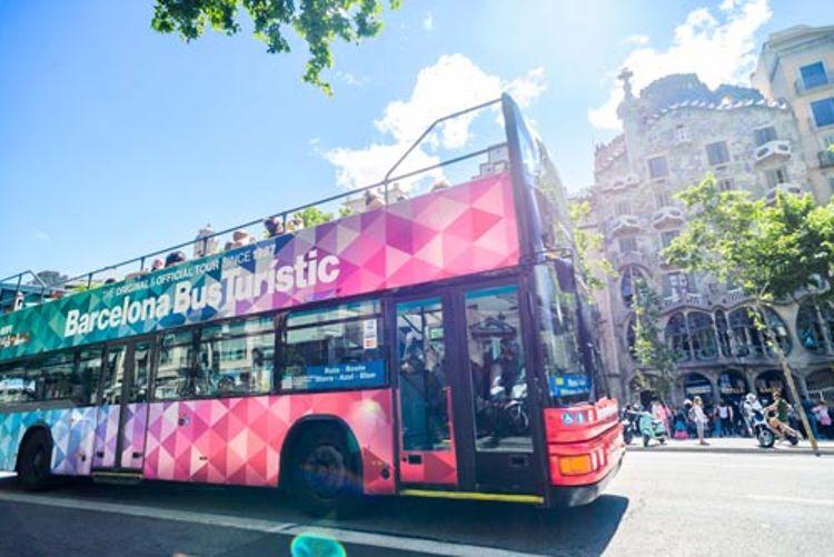 Hop-on/Hop-off-Bustour Barcelona