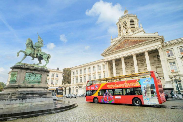 Brüssel Sehenswürdigkeiten Karte.Hop On Hop Off Bustour Brüssel