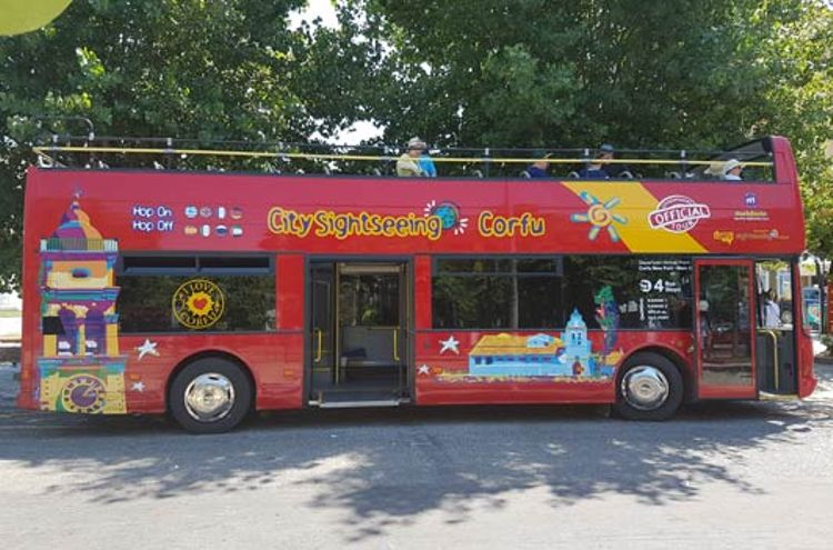 Bus Touristique Corfou