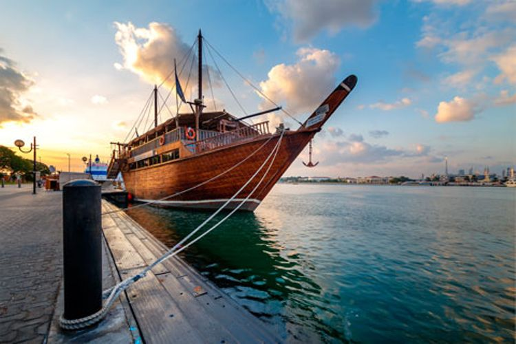 Dhow Dinner Cruise + Hop-On Hop-Off Dubai