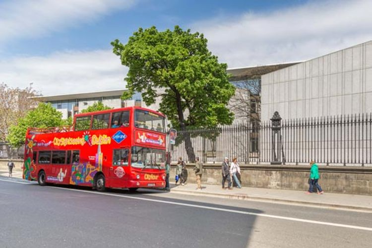 Hop-on/Hop-off-Bustour Dublin