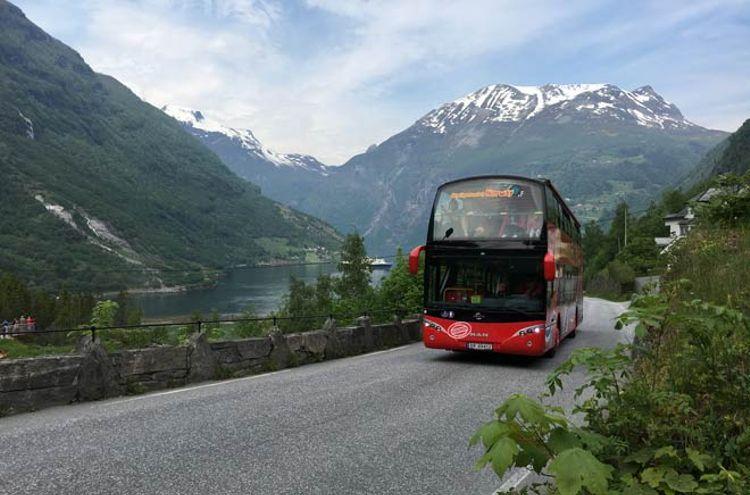Bus Turístico Geiranger