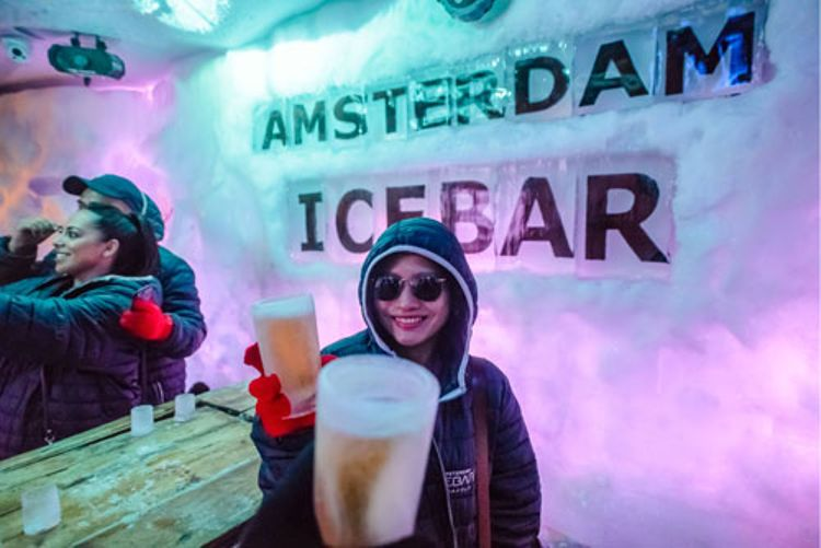 The Ice Bar + Hop-On Hop-Off Amsterdam