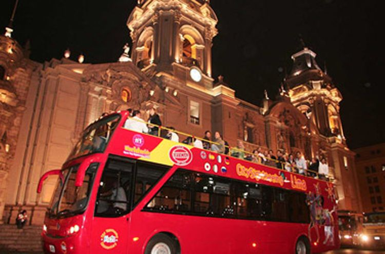 City Sightseeing Lima Night & Fountains Excursion