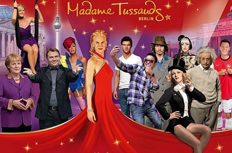 Madame Tussauds + Hop-On Hop-Off Berlin