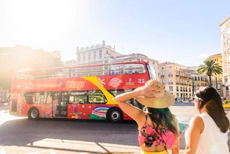 Hop-on/Hop-off-Bustour Málaga