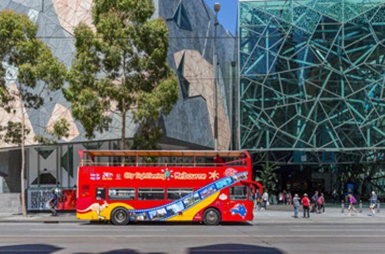 Hop-On Hop-Off Melbourne + Boat Cruises