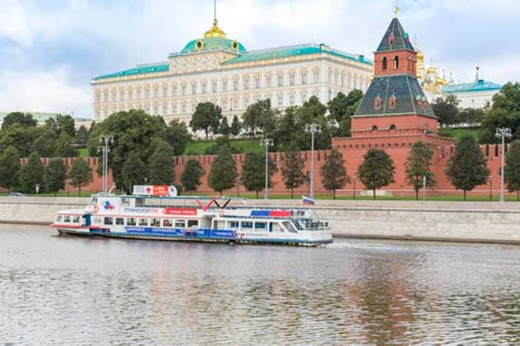 Hop-On Hop-Off Moscow Boat Tour