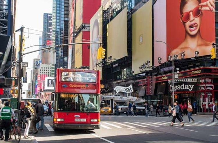 Hop-on / Hop-off-Bustour New York - All Around Tour