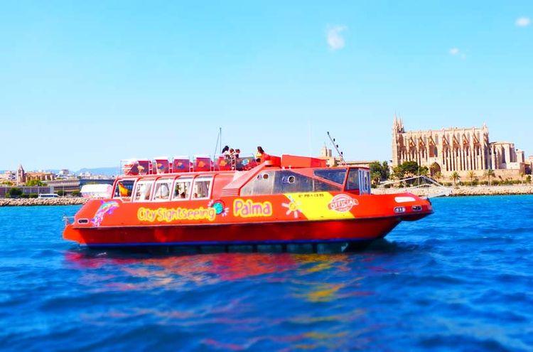 Hop-On Hop-Off Palma de Mallorca Boat Tour