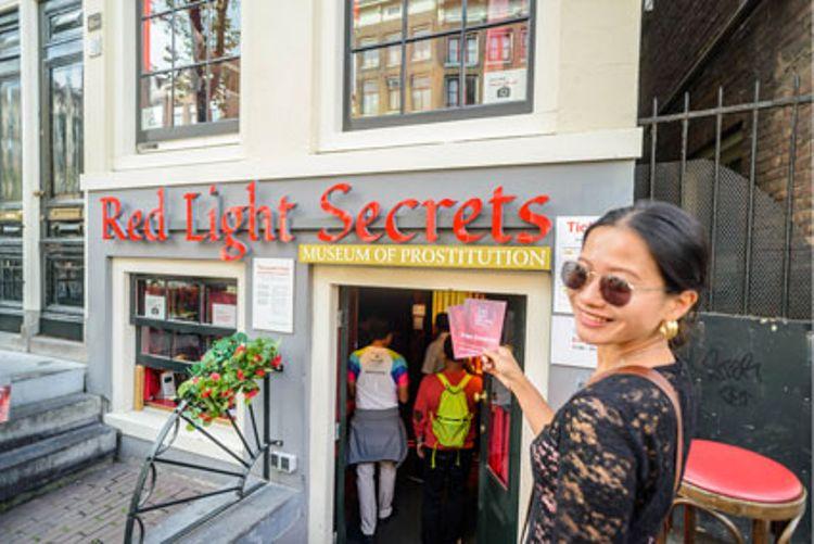 Red Light Secrets + Hop-On Hop-Off Amsterdam